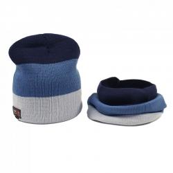 Комплект для мальчика, т.синий, синий, серый, Арт. 5943