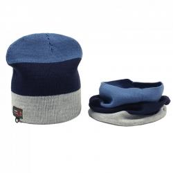 Комплект для мальчика, синий, т.синий, серый, Арт. 5943