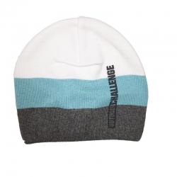 Шапка для мальчика, белый , голубой, серый, UA 958/00