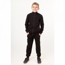 Костюм спортивный для мальчика, черный, 00126_BAT