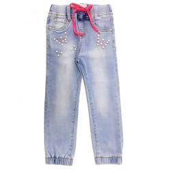 Джинсы для девочек, голубые, АРТ.8501