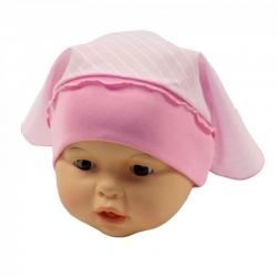 Косынка детская, розовая, арт.10010
