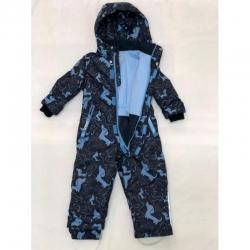 Комбинезон для мальчика, сине-голубой, ТАКСА КК17-10