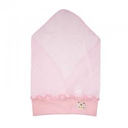 Косынка детская, розовая, арт.10162