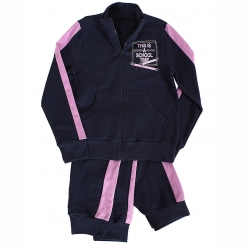 Комплект (куртка+брюки), т.синий+фиалка, Л1608-4682
