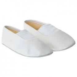 Чешки комбинированные, цвет белый