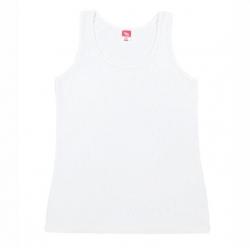 Майка для девочки, белый, CAJ 61162