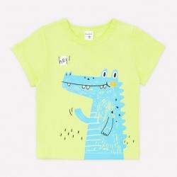 Фуфайка для мальчика, салатовый(крокодилы), К 3942