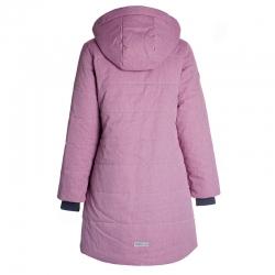 Пальто для девочки, пыльно-розовый, Николь