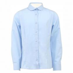 Блузка для девочки, голубой, CJ 6T117