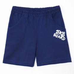 Шорты для мальчика, Синий джинс, Skateboard,2141-043