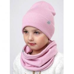 Шарф детский, розовый, 902730ха