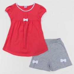 Комплект для девочки, цвет микс розовый/серый 470 3474280