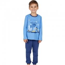 Пижама, индиго+голубой, М2263-5390