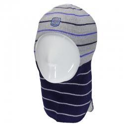 Шлем т.синий+св.серый, Лунти, 50474