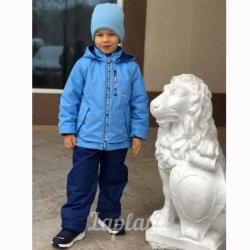 "Комплект д/м, КМ-16-9 ""ОДНОТОН"", голубой"