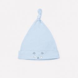 Шапка дет, К 8036/пыльно-синий,щенок