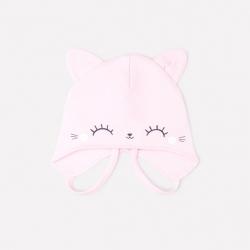 Шапка дет, К 8123/розовое облако, котята