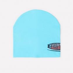 Шапка дет, КР 8078/бирюзово-голубой к284