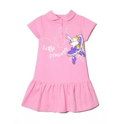 Платье 2141-119, Зайка балерина, Розовый,