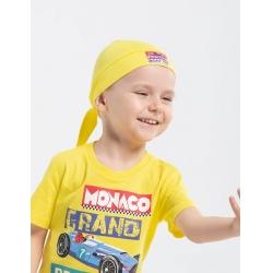 Бандана для мальчика, Желтый, CSKB 80036-30-274