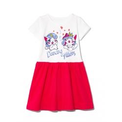 Платье 2141-178, Kittens Фуксия