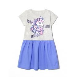 Платье 2141-178, UNICORN MAGIC Голубой