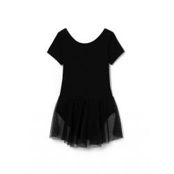 Купальник гимнастический, Черный, CAKG 40017-22
