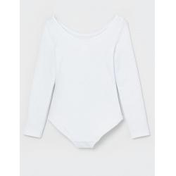 Купальник гимнастический, Белый, CAKG 40018-20