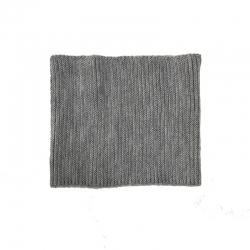 Шарф-снуд детский, серый, Арт. 12319