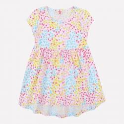 Платье для девочки, белый, этюд, К 5599