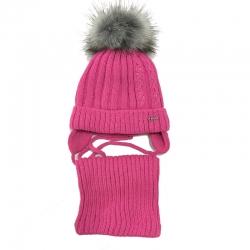 Комплект для девочки, ярко-розовый, Арт. 866