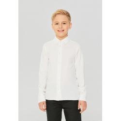 Сорочка верхняя детская для мальчиков Gingham-Inf base белый, 912137021