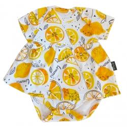 Платье-боди яс. К-8225/лимон