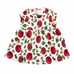 Платье дет. И-7580/гранат