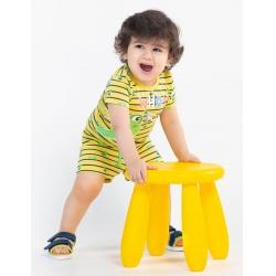 Шорты для мальчика, Желтый, CSNB 70055-30-279