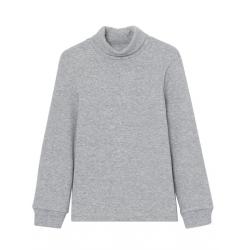 Водолазка для мальчика, Св.серый меланж, CWJB 62760-11
