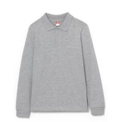 Рубашка-поло для мальчика, Св.серый меланж, CWJB 62761-11