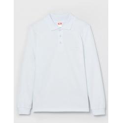 Рубашка-поло для мальчика, Белый, CWJB 62761-20