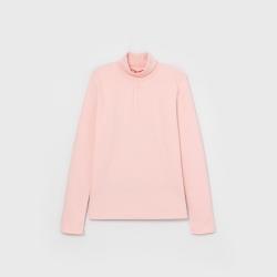 Водолазка для девочки, Розовый, CWJG 62771-27
