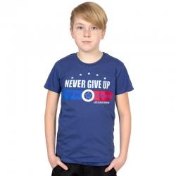 Футболка для мальчика, индиго, Н2551-5865