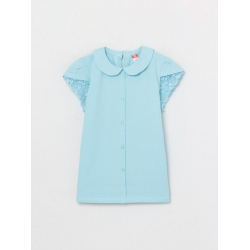 Джемпер для девочки, Голубой, CWJG 62781-43