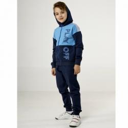 Костюм для мальчика, Синий меланж, CWJB 90031-15