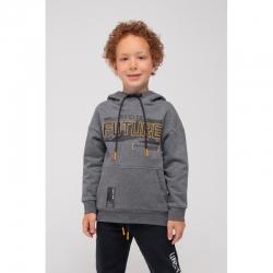 Джемпер для мальчика, КР 301446/серый меланж к296