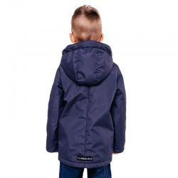 """335-21в-2 Куртка для мальчика """"Гаспар"""" синий"""