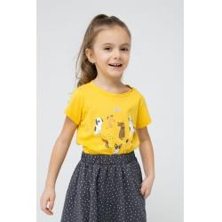 Фуфайка для девочки, К 301431/желтый к1272