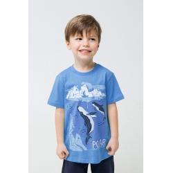 Фуфайка для мальчика, К 301531/голубой сапфир к1273