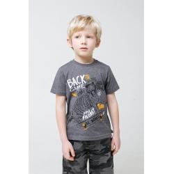 Фуфайка для мальчика, КР 301442/серый меланж к296