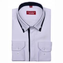 Сорочка для мальчика,  дл. рук. притал.,  1LD166+1dZ
