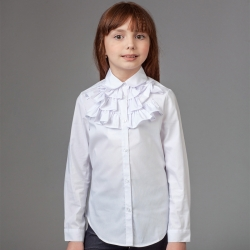 Сорочка для девочек,  дл. рук.,  B18-901